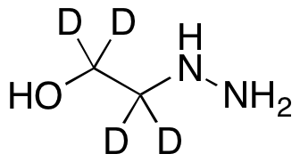 2-Hydrazino-ethan-1,1,2,2-d4-ol