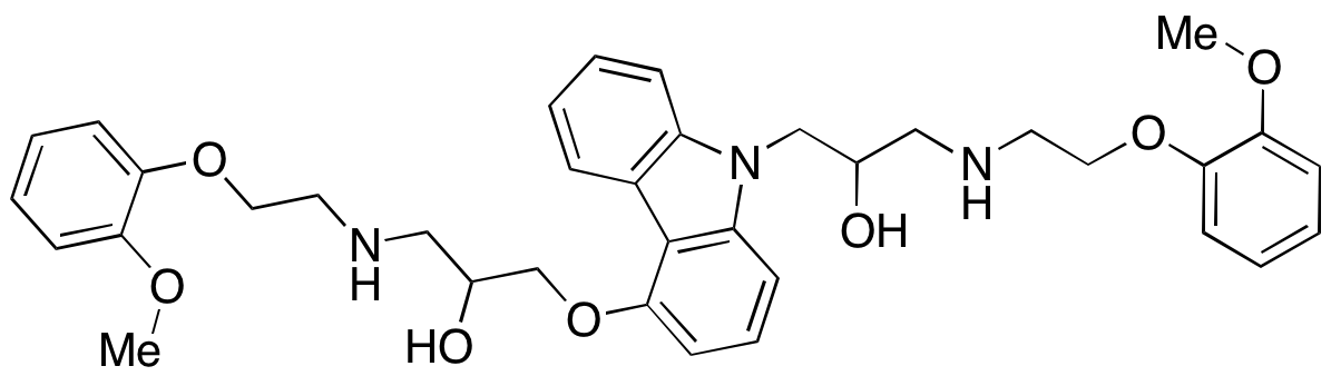 N-2-Hydroxy-3-[[2-(methoxyphenoxy)ethyl]amine Carvedilol