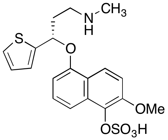 5-Hydroxy-6-methoxy Duloxetine Sulfate