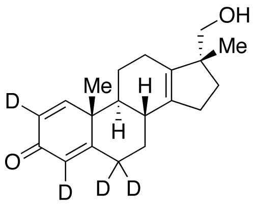 17α-Hydroxymethyl-17β-methyl-18-norandrosta-1,4,13-trien-3-one-d4