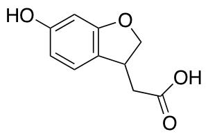 2-(6-Hydroxy-2,3-dihydrobenzofuran-3-yl)acetic Acid