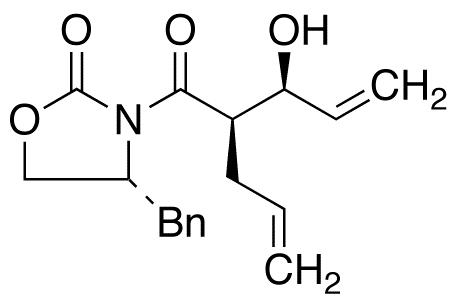 (4R)-3-[(2R,3S)-3-Hydroxy-1-oxo-2-(2-propen-1-yl)-4-penten-1-yl]-4-(phenylmethyl)-2-oxazolidinone