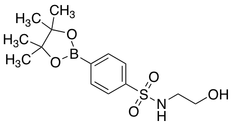 2-Hydroxy-s-[4-(tetramethyl-1,3,2-dioxaborolan-2-yl)phenyl]ethane-1-sulfonamido
