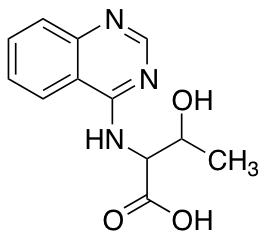 3-Hydroxy-2-[(quinazolin-4-yl)amino]butanoic Acid