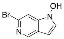 1N-Hydroxyl-6-bromo-5-azaindole