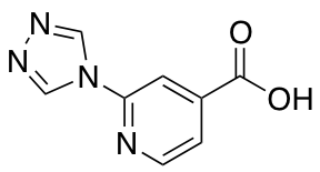 2-(4H-1,2,4-triazol-4-yl)isonicotinic Acid