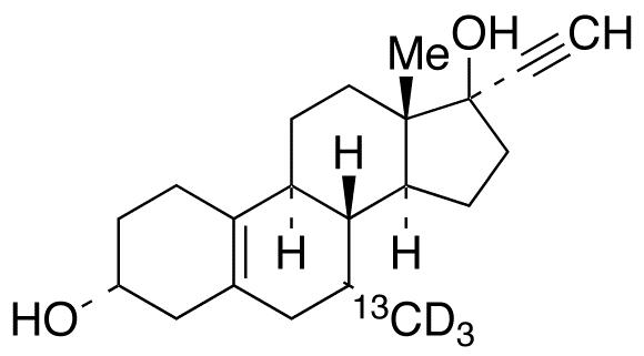 3α-Hydroxy Tibolone-13C,d3
