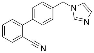 2-[4-(1H-Imidazol-1-ylmethyl)phenyl]benzonitrile