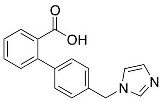 2-[4-(1H-Imidazol-1-ylmethyl)phenyl]benzoic Acid