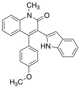 3-(1H-2-Indolyl)-4-(4-methoxyphenyl)-1-methyl-1H-2-quinolinone