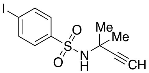4-Iodo-N-(2-methylbut-3-yn-2-yl)benzenesulfonamide