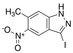 3-Iodo-6-methyl-5-nitro-1H-indazole