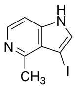 3-Iodo-4-methyl-5-azaindole