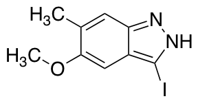 3-Iodo-5-methoxy-6-methyl (1H)indazole