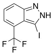 3-Iodo-4-trifluromethyl-(1H)-indazole