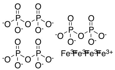 Iron(III) Pyrophosphate Soluble Crystals