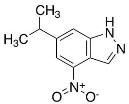 6-Isopropyl-4-nitro (1H)Indazole