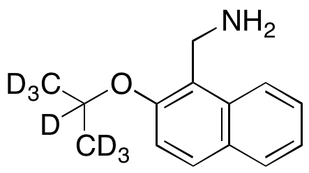 2-Isopropoxy-1-naphthalenemethanamine-d7