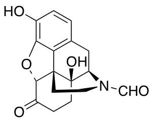 (5)-4,5-Epoxy-3,14-dihydroxy-6-oxo-morphinan-17-carboxaldehyde (1.0mg/ml in Acetonitrile)