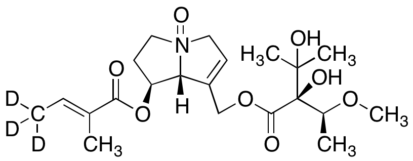 Lasiocarpine N-Oxide-d3
