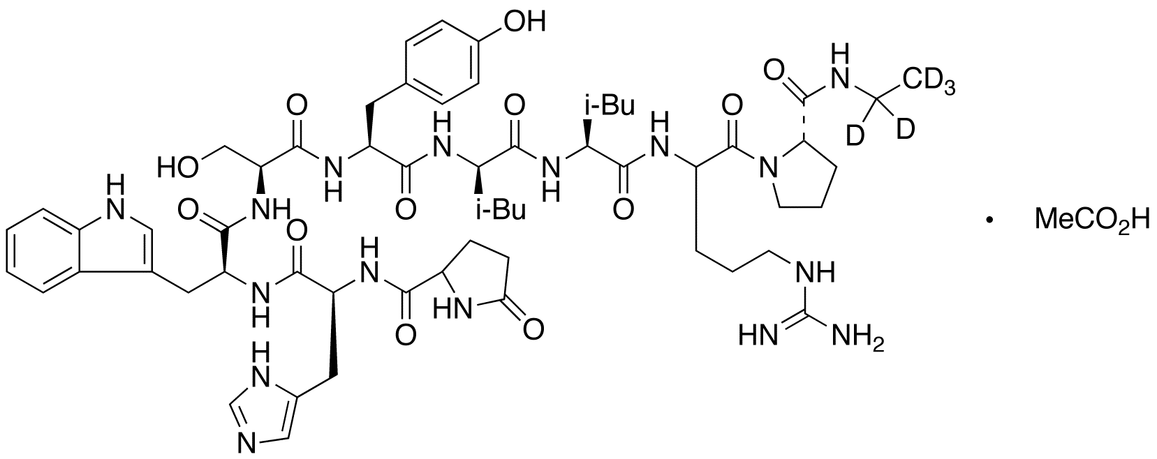 Leuprolide-d5 Acetate