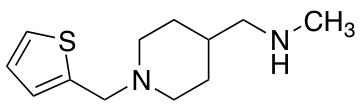 N-methyl-[1-(thien-2-ylmethyl)piperid-4-yl]methylamine