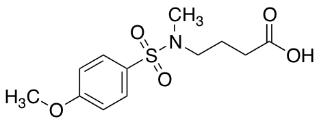4-(N-Methyl4-methoxybenzenesulfonamido)butanoic Acid