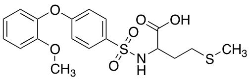 N-[4-(2-Methoxyphenoxy)phenylsulfonyl]-s-methylhomocysteine