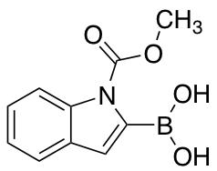 1-(N-Methoxycarbonyl)indole-2-boronic Acid