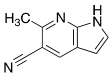6-Methyl-1H-pyrrolo[2,3-b]pyridine-5-carbonitrile