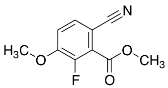 Methyl 6-Cyano-2-fluoro-3-methoxybenzoate