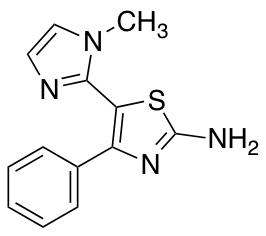5-(1-Methyl-1H-imidazol-2-yl)-4-phenyl-1,3-thiazol-2-amine