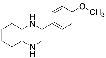 2-(4-Methoxyphenyl)decahydroquinoxaline