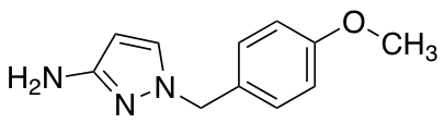 1-[(4-Methoxyphenyl)methyl]-1H-pyrazol-3-amine