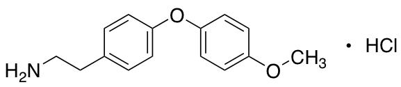2-[4-(4-Methoxyphenoxy)phenyl]ethan-1-amine Hydrochloride