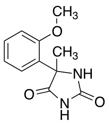 5-(2-methoxyphenyl)-5-methylimidazolidine-2,4-dione