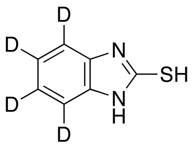 2-Mercapto-4,5,6,7-d4-benzimidazole