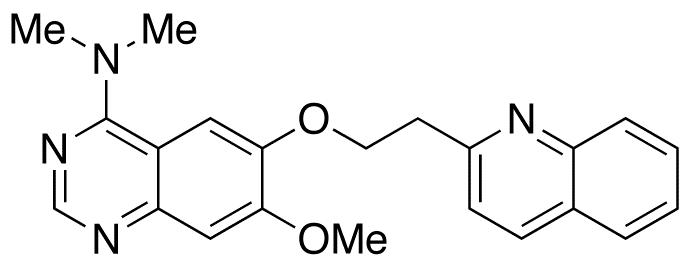 7-Methoxy-N,N-dimethyl-6-[2-(quinolin-2-yl)ethoxy]quinazolin-4-amine