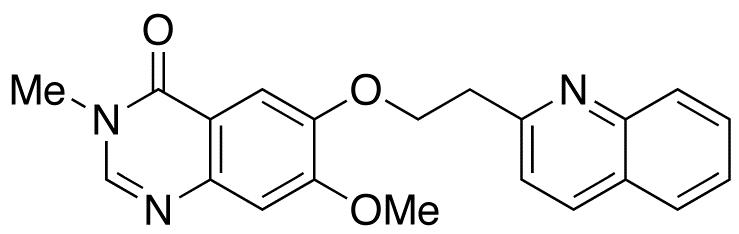 7-Methoxy-3-methyl-6-[2-(quinolin-2-yl)ethoxy]quinazolin-4(3H)-one