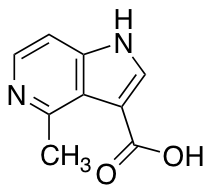 4-Methyl-5-azaindole-3-carboxylic Acid
