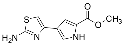 methyl 4-(2-amino-1,3-thiazol-4-yl)-1H-pyrrole-2-carboxylate