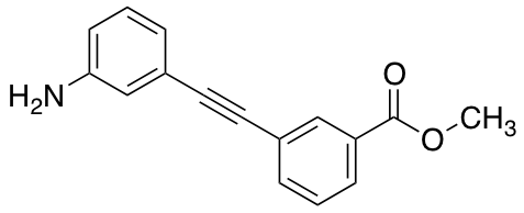 Methyl 3-[2-(3-Aminophenyl)ethynyl]benzoate