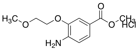 Methyl 4-Amino-3-(2-methoxyethoxy)benzoate Hydrochloride