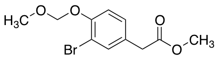 Methyl 2-[3-Bromo-4-(methoxymethoxy)phenyl]acetate