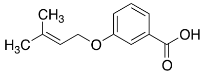 3-[(3-Methylbut-2-en-1-yl)oxy]benzoic Acid
