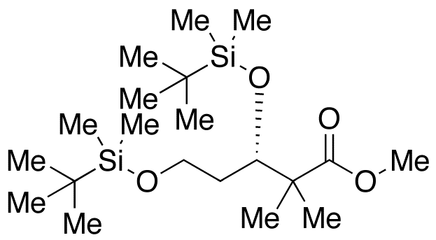 (-)-Methyl (3S)-3,5-Bis-{[tert-butyldimethylsilyl)oxy]}-2,2-dimethylpentanoate