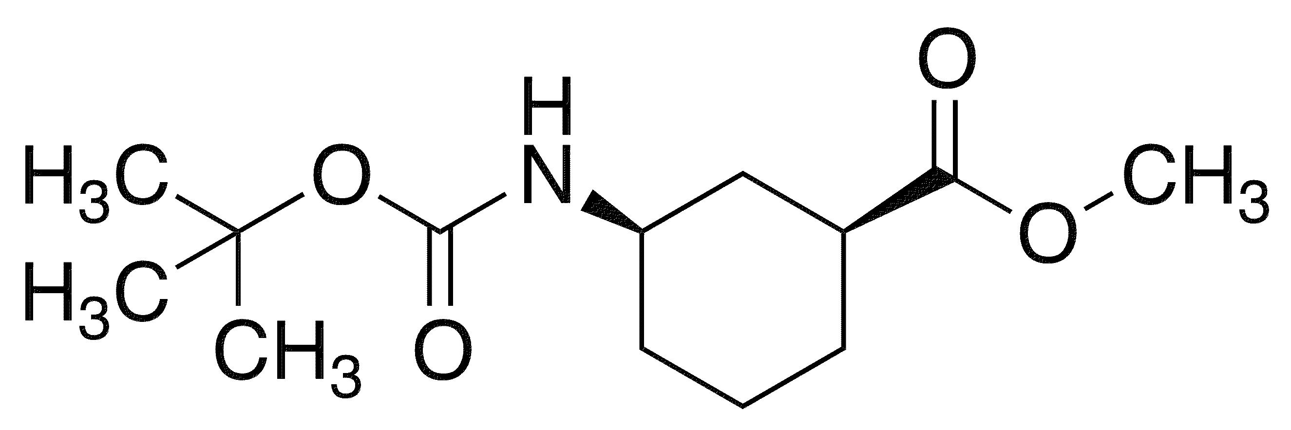 Methyl cis-(+/-)-3-{[(tert-butoxy)carbonyl]amino}cyclohexane-1-carboxylate