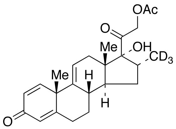 16α-Methyl-d3-9,11-dehydro Prednisolone 21-Acetate