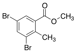 2-Methyl-3,5-dibromobenzoic Acid Methyl Ester