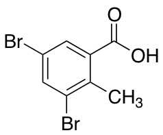 2-Methyl-3,5-dibromobenzoic Acid